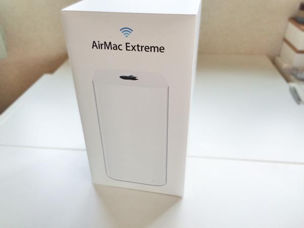 AirMacExtremeでWiFi接続!バリ簡単なMacでの初期設定