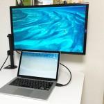 Macbookを二画面に!おすすめのモニターアーム&外部ディスプレイはコレ