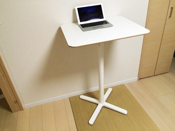腰痛対策にIKEAのスタンディングテーブルを導入してみた#作業環境最適化計画