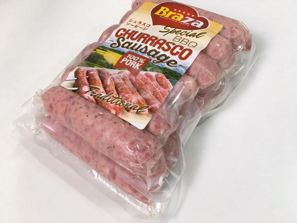 肉肉しくてブリブリ食感!コストコのシュラスコソーセージを食べてみた