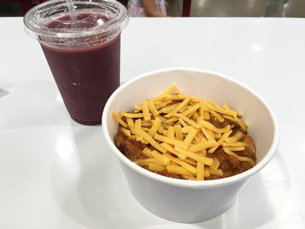 """コストコフードコート新メニュー""""チリビーンズポテト""""を食べてきた#食レポ"""