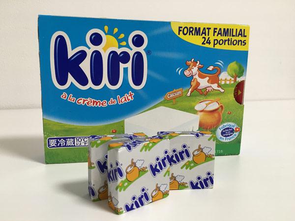 1個約28円!コストコのkiri(キリ)クリームチーズがコスパ良よくて美味