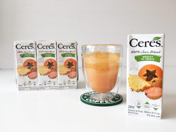 コストコのセレス[Ceres]メドレーオブフルーツがトロピカル&濃厚で美味