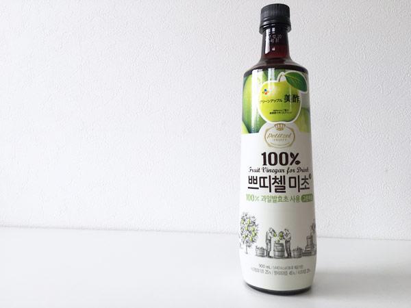 コストコのミチョ美酢(グリーンアップル味)に一番あう炭酸水は結局コレ