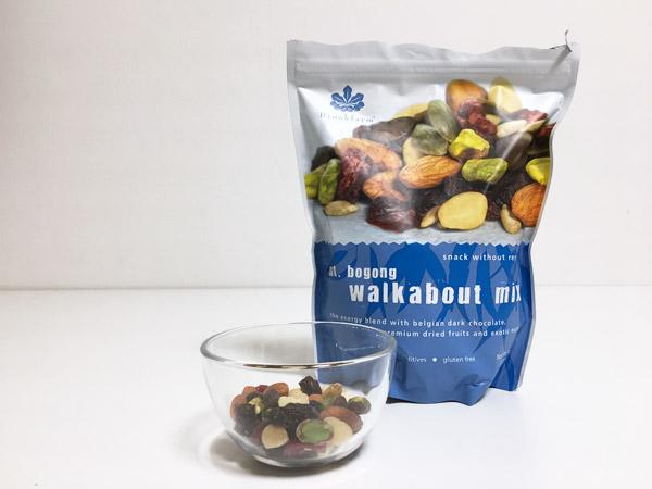 コストコのWALKABOUTMIXが美味!減量中のオヤツにおすすめ