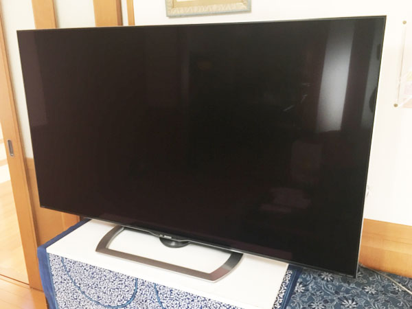 コストコでSHARP60型4Kテレビを購入!無料配送・設置・初期設定までの流れ[#AQUOS LC-60US40]