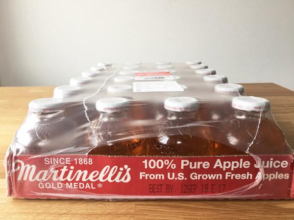 瓶が洒落とる!コストコ定番のMartinelliアップルジュース