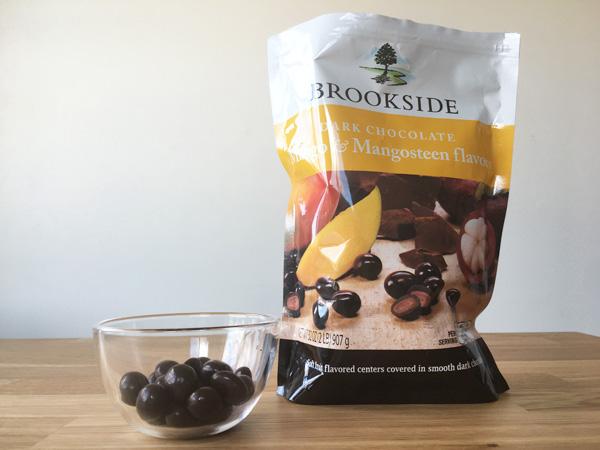 コストコのブルックサイドダークチョコレート(マンゴー&マンゴスチン)が美味!甘さがほどよい