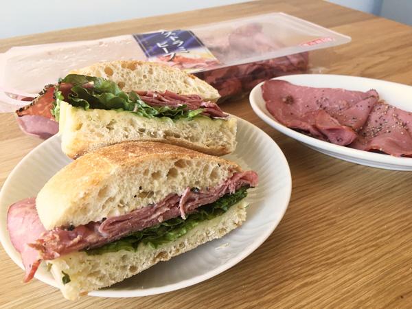 コストコのパストラミビーフ(伊藤ハム)が美味!サンドイッチにおすすめ