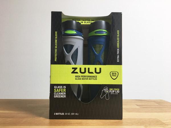 コストコのZULUガラス製ウォーターボトルが名品すぎる。コスパも優秀!