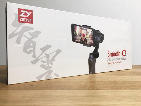 【失敗談】スマホ用ジンバル[ZHIYUN Smooth-Q]をAmazonで買うときに注意すべきこと