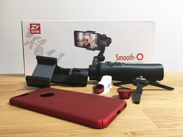 ZhiyunSmooth-Q撮影時に組み合わせて使うと便利なガジェット3選