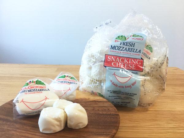 コストコのモッツァレラスナック(フレッシュチーズ)がヘルシーで美味