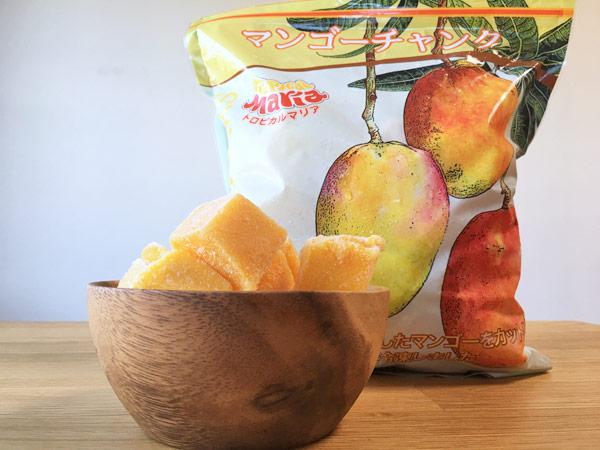 【コストコ】冷凍マンゴーチャンクが美味。コスパ抜群でヘルシー!