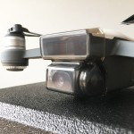 DJISpark用ジンバルカメラ保護カバーを導入!移動&保管時の予期せぬ破損を防ぐ