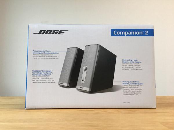 コストコでBOSEのPCスピーカー[Companion2seriesII]を購入。コスパの良さたるや
