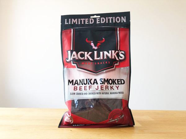 コストコのマヌカスモークビーフジャーキー[JACK LINK'S]を食べてみた