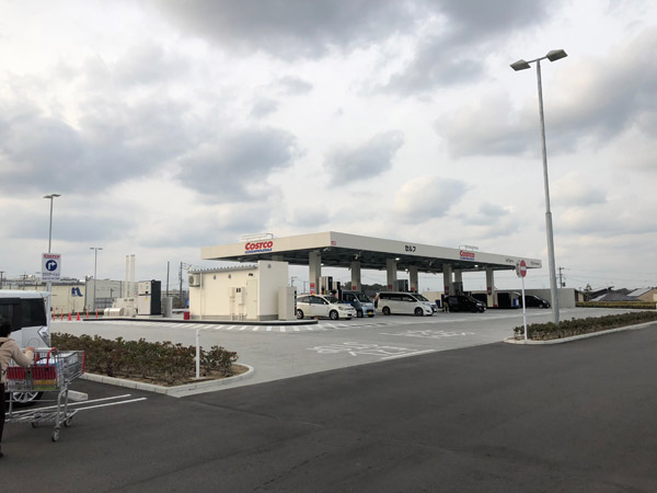 【コストコ】ガソリンの入れ方と支払い方法@北九州倉庫店ガソリンスタンド
