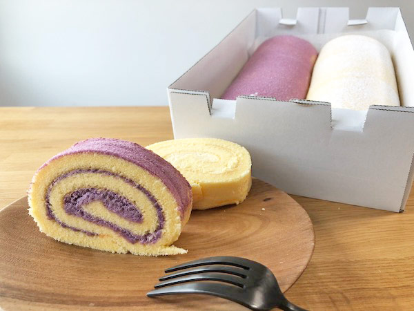 【コストコ】新商品の紫芋と安納芋ロールケーキを食べてみた #ベーカリー