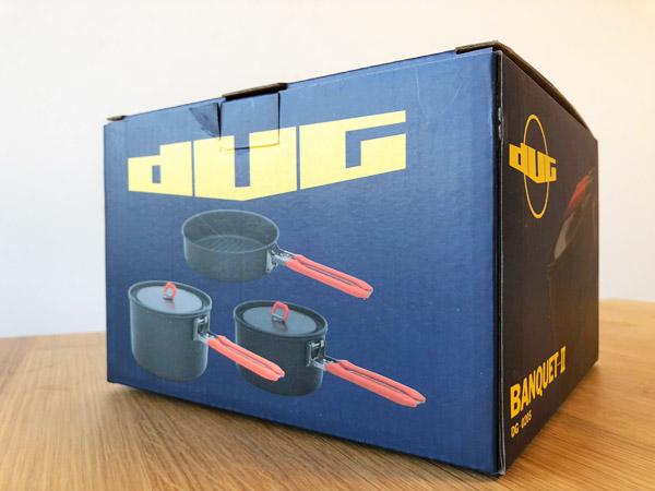【キャンプ飯#02】DUGブラックアルミクッカー[BANQUEST-2]を買いました