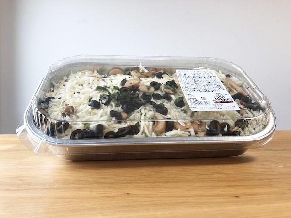 【新商品】コストコデリのラビオリラザニアポルチーニ&トリュフを食べた感想