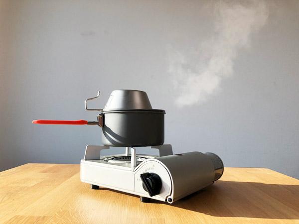 【キャンプ飯#03】無印のカセットこんろミニで美味しいご飯を炊く方法