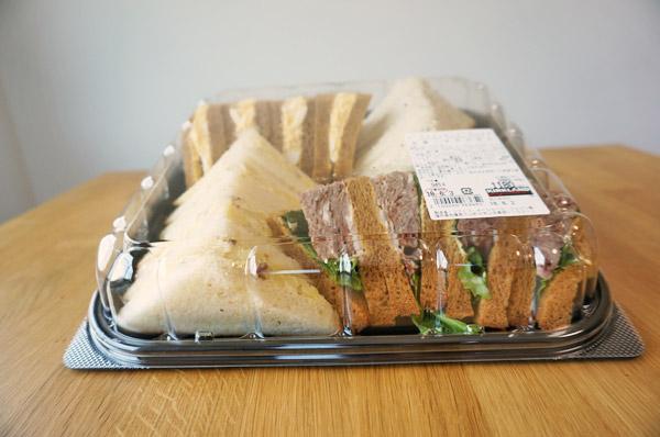 【コストコ】デリのバラエティサンドウィッチを食べた感想