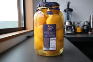 【コストコ】Coquetホールピーチシロップ漬け(黄桃)を食べた感想&保存方法