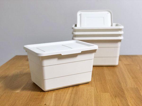 【IKEA】フタ付きボックス(ソッケルビート)の便利な使い方