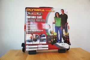 【コストコ】折り畳み式コンテナカート[OLYMPIA TOOLS]がすごい便利