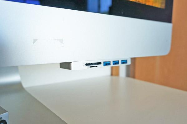 iMacに溶け込むオススメのSDカードリーダー&USBハブはこれ