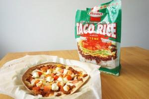 【コストコ】タコライス[沖縄ホーメル]で作る超簡単ピザのレシピ #おいしい