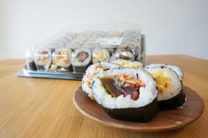 【コストコ】バラエティ寿司ロール40貫を食べた感想 #新商品