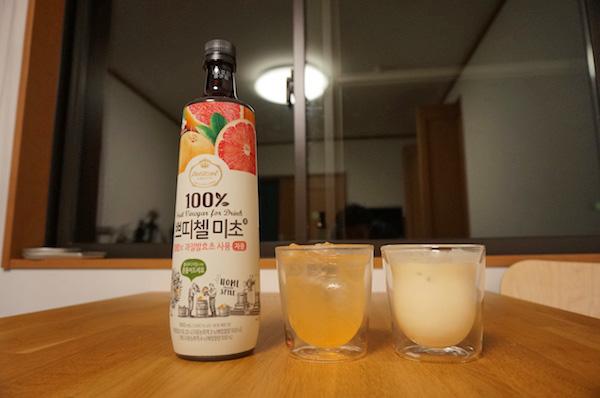 【コストコ】ミチョ(美酢)グレープフルーツ味の美味しい飲み方2選 #新商品