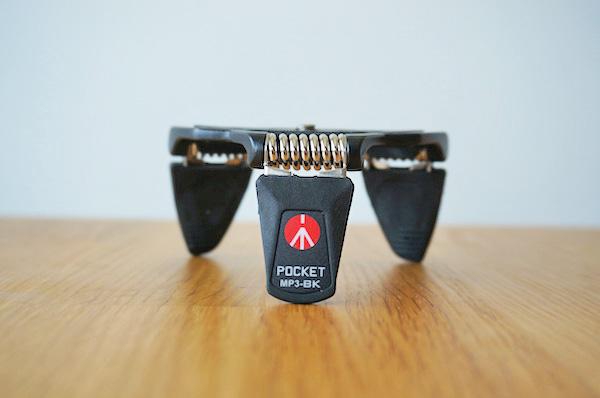 VLOG撮影用にマンフロットミニ三脚[POCKET L]を購入!小さいのにバリ安定